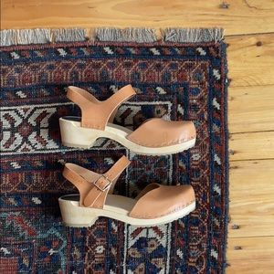 Low heel Swedish Hasbeen Clogs